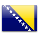 Bosnia and Herzegovinaの国旗